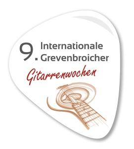 Logo 9. Grevenbroicher Gitarrenwochen
