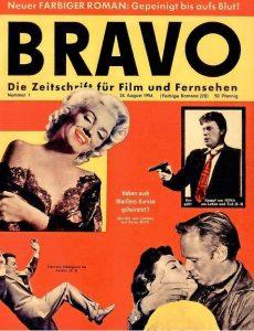 1. Ausgabe der BRAVO 1956